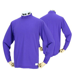 Ideal conditions during exercise and rest when you realize ONYONE baseball gear OKA95401 856N on men's baseball gear heigratormiddlenecklongsleeb's (purple (name.)) 02P31Aug14