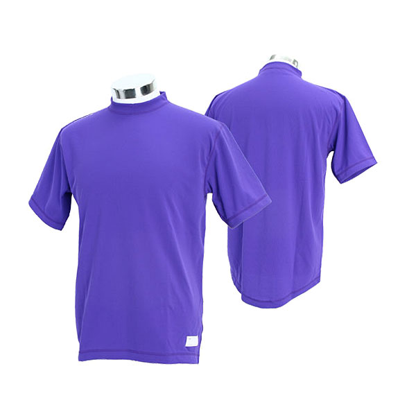It is realization ONYONE baseball gear OKA95405 856N On Yo Ne men undershirt high gray terhalf sleeve () which there is a purple (name in) 02P28oct13 with the condition that is most suitable at the time of exercise and a break