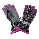 SPALDING(スポルディング) レディース グローブ 手袋 14GSPB450AD BLACK(ブラック)