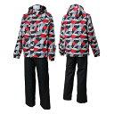02P03Dec16★普通便で送料無料★SPALDING(スポルディング) メンズ 男性用 スキーウェア SPM-5542 RED(レッド/ブラック)