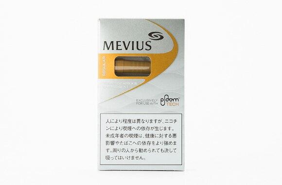 MEVIUS Regular for Ploom TECH メビウス・レギュラー・フォー・プルーム・テック460円 6個+スヌース950円 4個セット