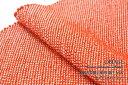 帯揚げ 赤橙色 オレンジ 正絹 四つ巻 無地 総絞り 鹿の子 帯あげ 成人式 振袖 ふりそで【あす楽対応】【メール便配送OK】