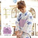 浴衣 3点セット(浴衣/作り帯/下駄) レディース浴衣 女性用 bonheur saisons(ボヌ