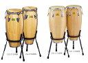 "White Wood Congas ホワイトウッドコンガw/REMO NUSKIN HEADS CG-117WSR(113/4""×30"") Pearl(パール)"