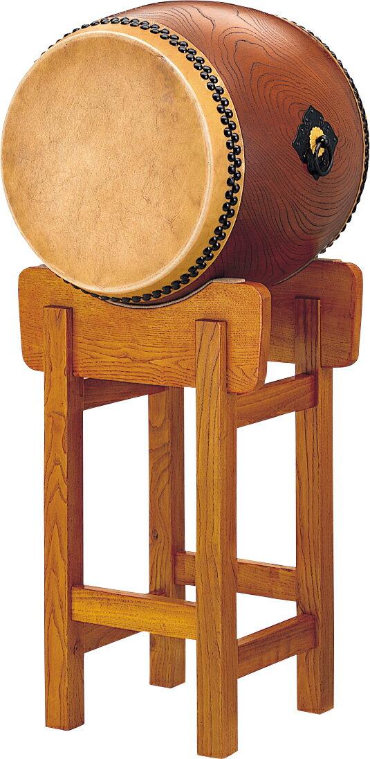 【受注製作】1尺7寸(51cm)大太鼓 (宮太鼓) 本けやき Wadaiko Keyaki 和太鼓 WOK-17M