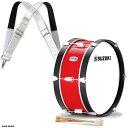 """木胴仕様の幼児向け「SKシリーズ」のバスドラムです。木の温かい音色が特長です。 フェルトミュート付 バスドラムのヘッドを外すと、付属のフェルトミュー卜の取り外しが可能です。 SKシリーズ・・木胴仕様の幼児向けシリーズです。木の温かい音色が特長です。 セット内容: マーチングバスドラム SKB-18C 吊バンド DMP-446 マレット 金具など 材質木胴 寸法45.6×24cm(18""""×9.5"""") 重量3.5kg 付属品マレット(SP-320B)・フェルトミュート 備考 6本ボルト・ホルダー用金具付 対応ヘッドS-HWM-18C (吊バンドの仕様) 寸法ショルダーストラップ(腰回り) 最長 64cm・最短50cm×2本 重量240g 備考 5段階ベルト穴・ドラムフック付 (マレットの仕様) ヘッドフェルト 柄オーク 寸法40×320mm ※こちらの製品はお取り寄せとなります。 メーカーに在庫があれば2-3営業日ほどで入荷致しますが、もし在庫切れの場合は別途納期をご案内致します。 ご注文前の在庫確認、納期確認はお気軽にお問い合わせ下さい。"""