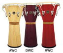 ジャンベ LPA630-** LP Aspire® Tunable Djembe, 12-1/2″ Wood  RWC=Red Wood LP