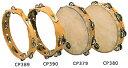 タンバリン CP380 CP Tambourine with Head, 10″Double Row Jingles LP