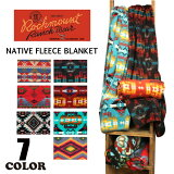 Rockmount��å��ޥ����NATIVEFLEECEBLANKET�ͥ��ƥ������ե꡼���Ǻ���Ƚ�֥�󥱥åȥ��(������)��ǥ�����(������)����(1062,1066,1076,1083)