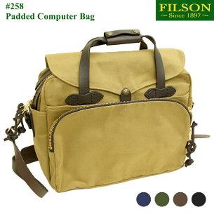 フィルソン パテッド コンピューター ビジネス ショルダーバッグ キャリーバッグ