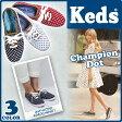 ケッズ Keds Champion Dot キャンバスチャンピオン ドット オックスフォード スニーカー水玉 レディース (WF46399 46400 46401)【正規品】
