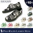 【WINTER SALE】ポロ ラルフローレン メンズ POLO Ralph Lauren MENSポニー刺繍 VAUGHN 無地 キャンバス スニーカー ローカット メンズ (816203530)【正規品】 【送料無料】