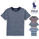 ポロ ラルフローレン ボーイズPOLO Ralph Lauren BOYS ボーダー Tシャツ半袖 ストライプ 横縞 トップス カットソー メンズ 【正規品】 【ネコポス(1点のみ)】