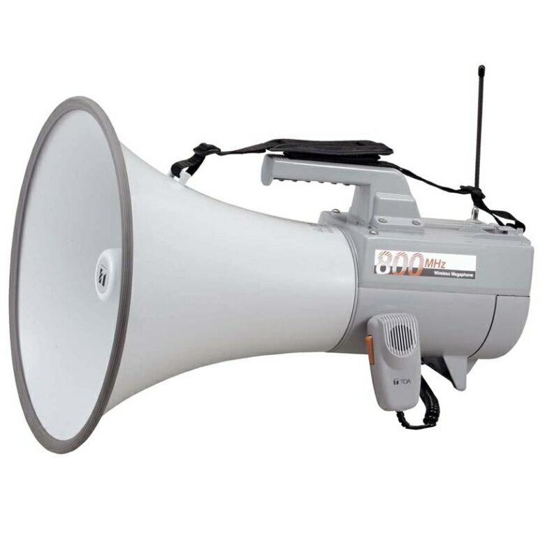 【送料無料】[ ER-2830W ] TOA メガホン 拡声器 ワイヤレス対応メガホン(800MHz帯) 大型メガホン 30W ホイッスル音付 [ ER2830W ]