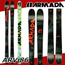 ARMADA SKI アルマダ スキー ARV 86 エーアールブイ 16-17 予約 送料無料 10%OFF 日本正規品