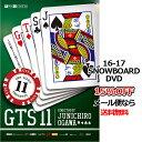 GTS11 ジーティーエス11 SRN VIDEO エスアールエヌビデオ 16-17 新作 SNOWBOARD DVD