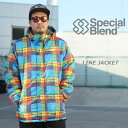 SPECIALBLEND е╣е┌е╖еуеые╓еьеєе╔ LINE JACKET ещедеєе╕еуе▒е├е╚ 50бєOFF