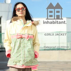 INHABITANT インハビタント GIRLS JACKET ガールズジャケット IH382OT52 GN 30%OFF