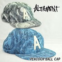 ALTAMONT オルタモント PEACOCK BALL CAP 30%OFF