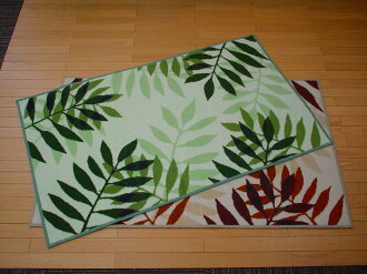 Egypt-made door mat leaf pattern 66 × 110 cm is the disposal price sink mats sold end products