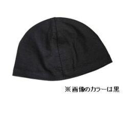 【コンビニ受け取り不可】【メール便 送料無料】綿の汗取りキャップ 黒(C017)帽子 がん治療 4800円(税別)以上お買い上げで送料無料【PE】