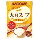 大豆スープ 味噌風味 100ml×36本 カゴメ【YS】【店頭受取対応商品】