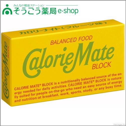 カロリーメイト ブロック フルーツ味 2本入 大塚製薬 バランス栄養食品【PT】