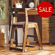 アウトレットセール イトーキ 学習椅子 ITOKI(イトーキ)木製チェア KM16-79DB(張地:ソフトレザー)カフェブラウン