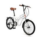 自転車 20インチ ミニベロ ドッペルギャンガーROADYACHTロードヨット サントリーニ 7段変速機 DOPPELGANGER 330-N-WH
