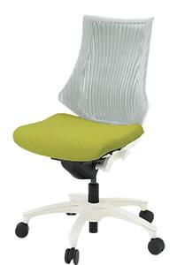 イトーキ エフ チェア エラストマーバック ハイバック ベースカラーW9 肘なしKF-350GS-W9 ITOKIオフィスチェア 椅子 事務椅子 イス いす f F エフ ロッキングチェア パソコンチェアー PC チェアー【人気のあります】