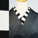 洗える半衿 半襟 レトロモダン 横・太 ボーダー 縞 ストライプ 人気商品 メール便対応 han14053 レビュー