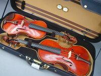 バイオリン/ビオラコンビケースViolin+ViolaCaseBlack