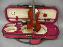 Quality バイオリンケース 1/10 レッド