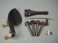 ViolinFittingsetGuaruneruGoldBuillt-inAdjusterHillModel