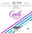 ビオラ弦 コレルリクリスタルset CORELLI CRYSTAL