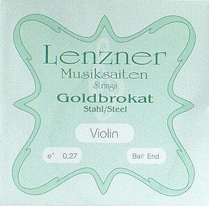 バイオリン ゴールドブラカット Musiksaiten Goldbrokat