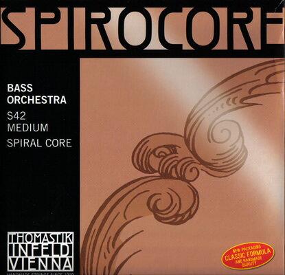 コントラバス弦SPIROCORE ORCHESTRA スピロコア オーケストラチューニング