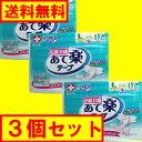 白十字 応援介護 テープ止め あて楽 Lサイズ 17枚入×3個セット 【ケース販売】