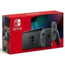 新型 Nintendo Switch ニンテンドースイッチ 本体 Joy-Con グレー 任天堂 ゲーム機 プレゼント ギフト 家族 ファミリー [ラッピング対応可]NKAG