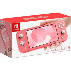 Nintendo Switch Lite <strong>コーラル</strong> ニンテンドースイッチライト 本体 任天堂 ピンク [ラッピング対応可]