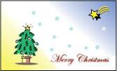 メッセージカード カード -3 Merry Christmas プリザーブドフラワー 花材 【あす楽対応_関東】