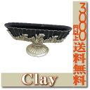 【即納】 c007 150-310-872 HERITAGE オーバルM ANTIQUE GRAY 花器 クレイ clay