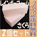 【即納】 2個セット!レインボーフォーム 桜 フォーム 超特価品!プリザーブドフラワー