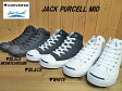 【送料無料】♪CONVERSE JACK PURCELL MID▼コンバース ジャックパーセル MID▼(BLACKMONOCHROME)(BLACK)(WHITE) レディース,メンズ,ミッドカットスニーカー【コンビニ受取対応商品】