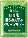 【送料無料!】印度風ほうれん草のグリーンカレー 200g 1ケース(30個入)