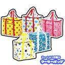 ショッピング保冷バッグ 【キュート柄のレジャーアイテム】クーラーバッグ