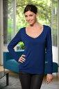 Pomkin 2in1マタニティシャツ ZOE -ブルー