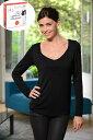 Pomkin 2in1<授乳対応>マタニティシャツ ZOE -ブラック