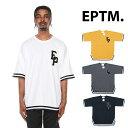EPTM エピトミ BASEBALL TEE BLACK MUSTARD CHARCOAL OFF WHITE ベースボール Tシャツ ブラック 黒 マスタード チャコール オフホワイト 白 半袖 メンズ 男性 レディース 女性 カジュアル eptm