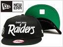 NEWERA CAP 9FIFTY OAKLAND RAIDERS SNAPBACK BLACK WHITE ニューエラ キャップ 9フィフティ オークランド ...